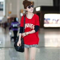 825 2012 women's fashion t-shirt short jacket tank dress twinset one-piece dress