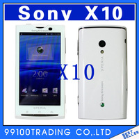 "X10i 100% Original Unlocked Sony Ericsson xperia X10 8MP mobile Phone WIFI GPS bluetooth Android OS free shipping 4""Touch Screen"