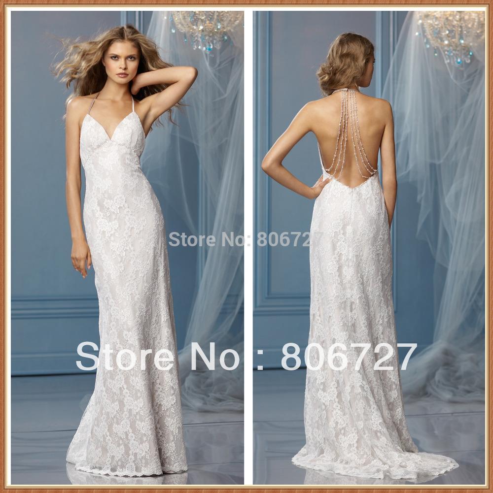 Backless Halter Wedding Dresses | Dress images