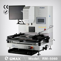 GMAX RM-5060 high quality optical alignment  BGA Rework Station Machine with camera moving around