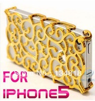 Fashion luxury cell phone case For iPhone 5 apple iphone5 i Phone 5 bling Case cover new arrival 1 piece free shipping