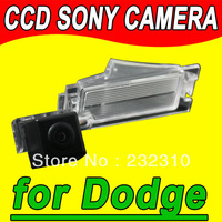 For Sony CCD car rear view back up parking camera Dodge Caliber from 2011 waterproof high-solution PAL( Optional) for GPS Radio