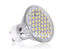 10pcs sample testing gu10 3w SMD3528 led bulb quartz halogen lighting glass body well heat elimination free shipping
