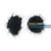 Genuine Mink Fur Ball 25mm Free Shipping