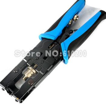 Free Shipping Multifunctional Compression Tool BNC/RCA CRIMP TOOL RG59/RG6 1W5,RG59, RG6, F-pin, BNC, RCA