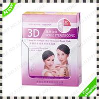 Cosmetic Makeup Face Hand  Body Cream Make up Skin Deep Sea 3D Collagen Clear Oil Control Facial Mask Brand Size Set 1Pcs 1 Pcs