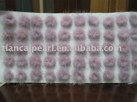 Mink Fur Ball Colorfast 30mm