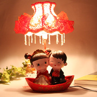 Romantic Originality Wedding table lamp for male/women/lover as Christmas/Birthday/marriage decoration props gift Free shipping