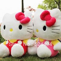 30cm KT cat doll Hello Kitty Plush Children Doll birthday Gift Wholesale Plush Toys 35cm Free Shipping xqw187