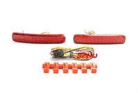 Car LED brake light, LED rear fog lamp for Toyota Highlander 2012~13 , Brake light + turn signal + running lights warning, 3 in1