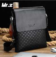 Free Shipping High Quality Genuine Leather Men Bag Briefcase Messenger Bag Male Shoulder Bag Casual Bag Men's MSB0002