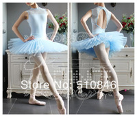 Free shopping/ New Adult Professional Ballet Tutu Hard Organdy Platter Skirt Dance Dress 7color /ballet tutus