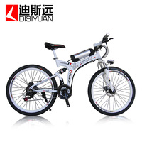 Charybdis 26 x6 disc electric mountain bike folding electric bicycle electric bicycle car battery car battery