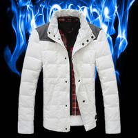 Free shipping  Design short down coat male thin down coat winter coat down coat