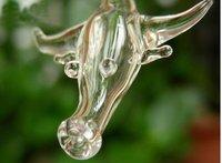 Free Ship ! ! 200PCS  Chinese zodiac tauren VIAL PENDANT BOTTLE 5mm fit necklace  VPB 018