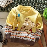 New 2013 Children Winter Shoulder Button Sweater Baby Clothing/Children Sweater