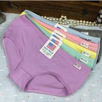 100% cotton panties women's little pants girls women's briefs comfortable panties week pants