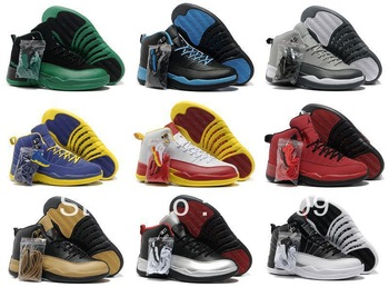 Free shipping wholesale famous brand Air 12 mens J12 basketball shoes, Cheap discount Retro XII sneakers for men for sale online