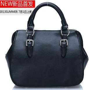 2013 Guaranteed Genuine Leather Women Handbags Mulitfunctional Tote Fashion Ladies Bags one shoulder messenger bag totes
