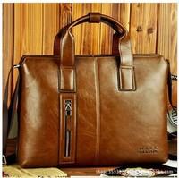 New product! 2013 male horizontal handbag commercial computer briefcase messenger bag man bag