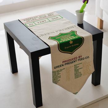 New hot free shipping 30*140CM Fashion nostalgic vintage linen fabric table runner long mat
