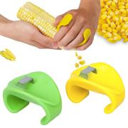 Free shipping,10pcs/lot,New facilitate the corn shaver / the stripped corn,color random