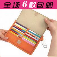Multifunctional 40 card case card holder card storage bag storage