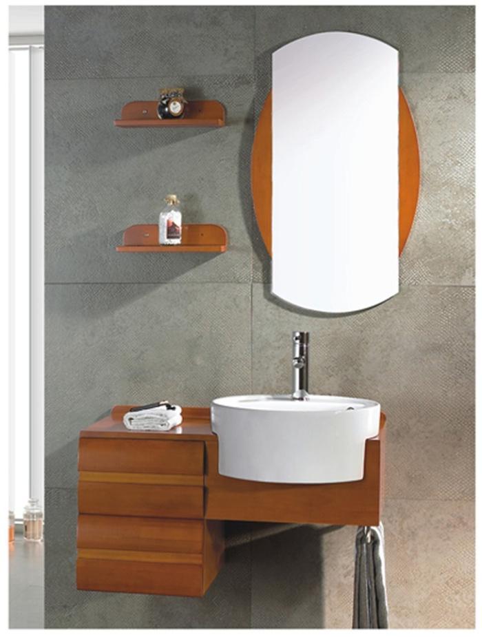 bathroom counter single bowl washbasin cabinet mirror bathroom cabinet