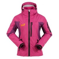 free shipping Female outdoor fleece sportswear women's twinset three-in waterproof outdoor jacket