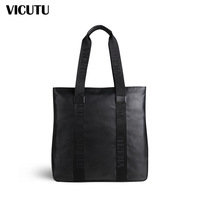 Vicutu business casual bag bags shoulder bag cowhide genuine leather bag vwm11305359
