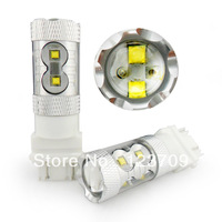 High Power 50W 12v led light for cars 3157 Cree Chip