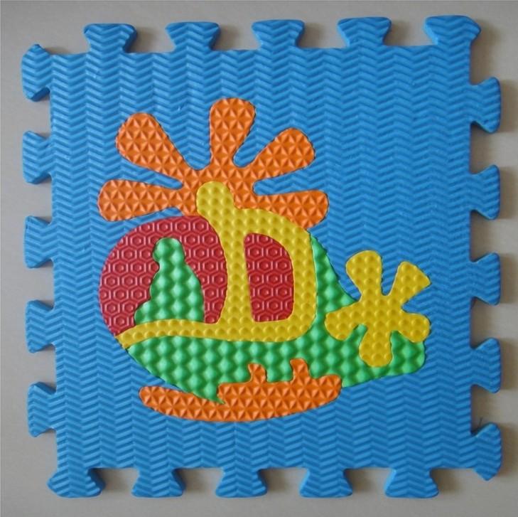 Esteiras do enigma da espuma esteiras eco-friendly bebê criança eva piso tapete engatinhando tapete(China (Mainland))
