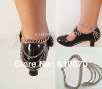Free Shipping New Design Fashion Heel Shoe Ankle Chain Bracelet Body Jewelry Anklet Foot Cuff Jewelry