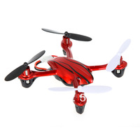 Free Shipping New Gyro 2.4GHz 4 6 Axis Channel Remote Control RC Quadcopter UFO Helicopter RED