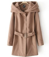 IN STOCK Free Shipping FACTORY PRICE 2013 New Design Slim Ladies' Sexy Wool coat Fashion Wool Jacket Casual Outerwear