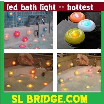 free shipping LED 7 Color Light Bathtub light, bath pool light,color changing spa light,Box Packing High quality   A10060SL