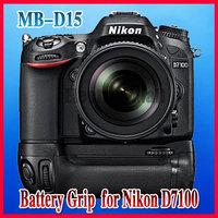 Pro Vertical Multi Power Battery Grip Holder EN-EL15 for Nikon D7100 DSRL Camera as MB-D15,Free Shipping & Drop Shipping!!