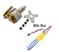 Free shipping!XXD A2212 1000KV Brushless Motor + 30A ESC for Multicopter 450 X525 Quadcopter free shipping