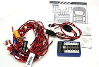 Free shipping!G.T.POWER 12 LED RC Car Flashing Light System LE858