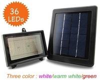 Free shipping!Upgrade light control 36LED Solar Floodlight Floodlight billboard lights garden lights garden lights
