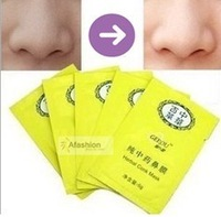 Herbal Pores Cleanser100% works 10 pcsDeep Cleansing Nose  Blackhead Remove Mask Face For Skin Care Free Shipping For Women Men