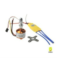 free shiping!New RC 2200 Brushless Motor 2212-6 + ESC 30A
