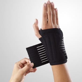 Lp552 wrist support built-in elastic gasket