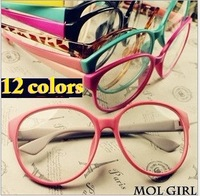 TOP HOT SAIL Korean big box Retro Ala Lei glasses Unisex Non-mainstream Round eyeglass frames