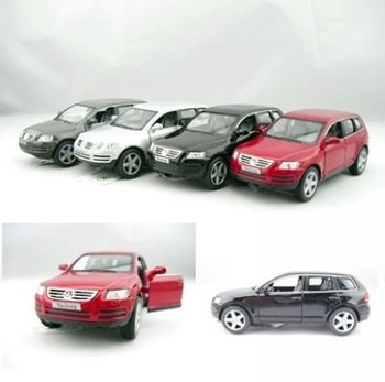 alloy Soft world 4 pull back car touareg volkswagen touareg car alloy car model wholesale