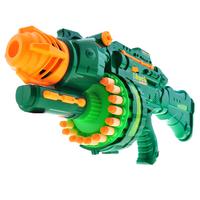 Super large soft bullet gun plastic bullet 20 child electric toy gun electric gun