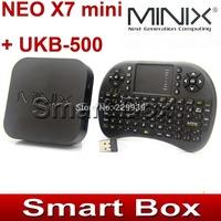 MINIX NEO X7 mini X7mini Quad core RK3188 2G 8G TV BOX  Android 4.2.2 + BLACK English UKB-500 2.4G mini keyboard w touchpad