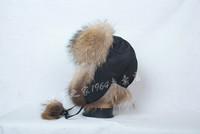 Thermal fur hat raccoon hat male women's thermal new arrival fur