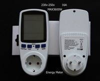 EU power monitor digital Energy kwh meter solar power tester