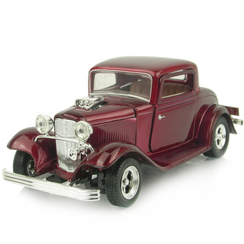 Classic car model alloy 1932 ford coupe FORD classic car alloy car models